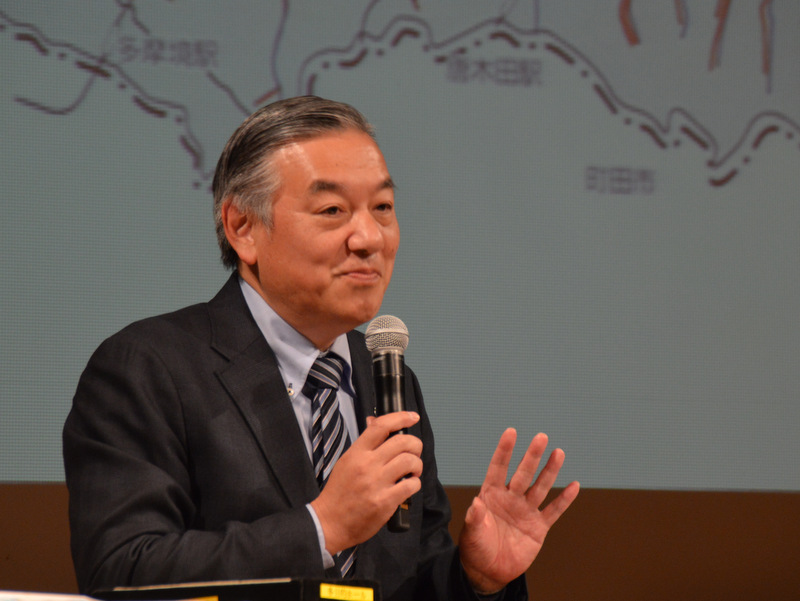 多摩市長 阿部裕行氏
